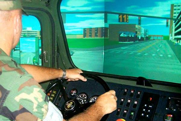 realistic virtual driving simulator