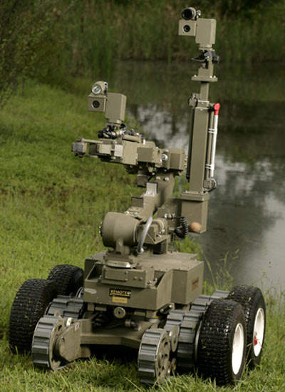 HD-1J bomb disposal robot