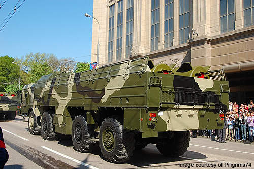 The Iskander was developed in the 1990s to replace the decommissioned OTR-23 Oka (Nato: SS-23) missile system.