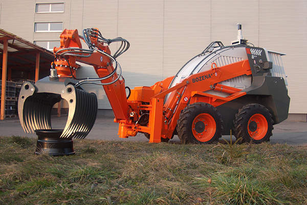 Bozena 4+, the latest version of Bozena 4 demining system, was demonstrated at Military Engineering 2011 in Brussels, Belgium. Image courtesy of WAY INDUSTRIES, a.s.