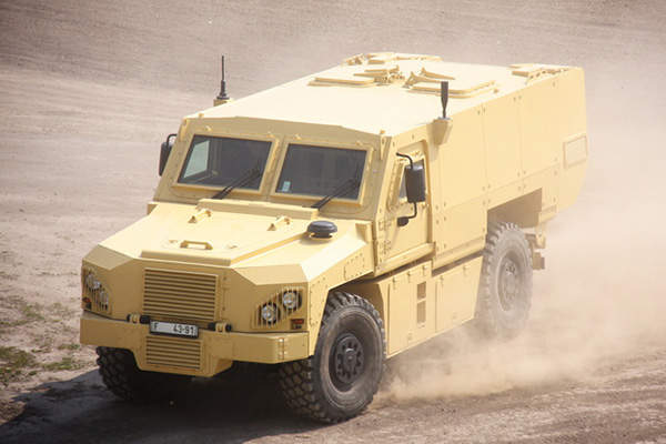 The VEGA APC can accomplish a maximum speed of 110kmph. Image courtesy of Martin KOLLER.
