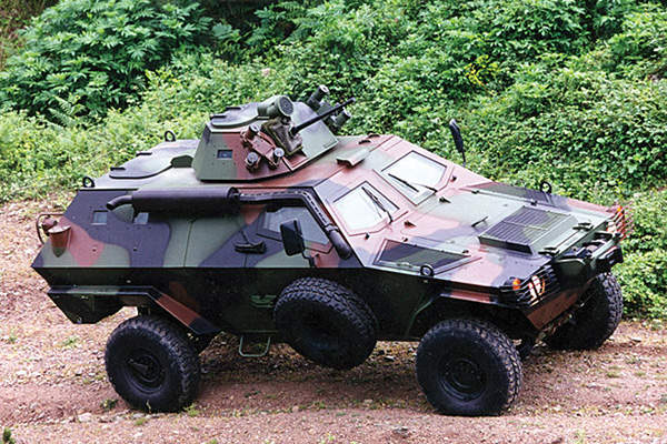 Cobra II is based on the existing Cobra armoured vehicle in picture.