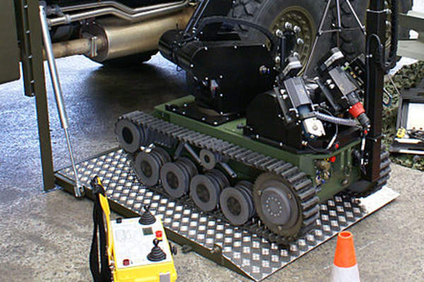 The tEODor robot can reach a maximum speed of 3km/h.