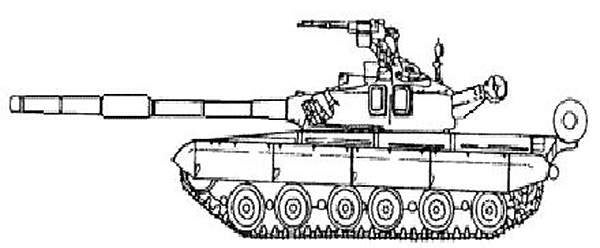 The Oplot MBT has conventional layout, with the driver's compartment in front, fighting compartment in the middle and engine at the rear.