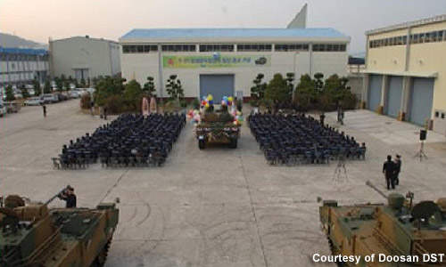 The ROK Army plans to launch about 1,000 K21 NIFV units into the field.