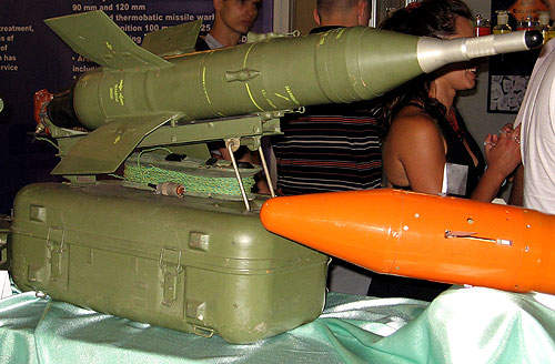 The Lazar can be armed with a Malyutka ATGM subsystem.