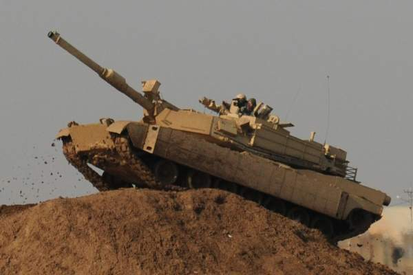 The first M1 Abrams battle tanks were delivered to the US Army in 1980
