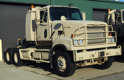 The Detroit Diesel S60 engine generating 500hp gives M915A5 a road speed of 65mph.