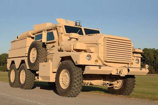 Mastiff 2 succeeds the Mastiff protected patrol vehicle (PPV), pictured. It is based on the US Cougar, but is fitted with additional features to suit the requirements of UK forces.