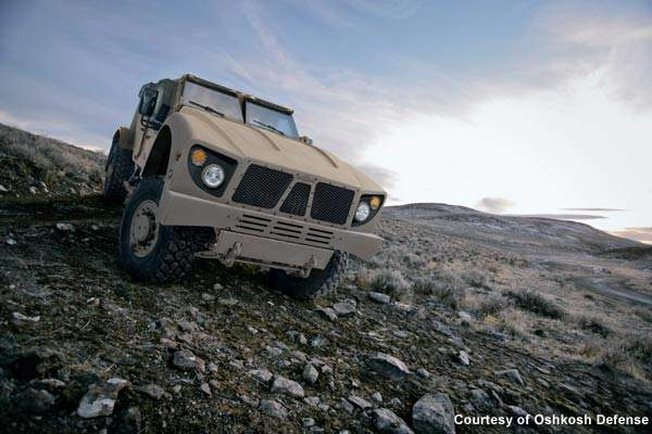 To achieve the off-road mobility that soldiers and Marines need in Afghanistan, Oshkosh Defense integrated its <br />TAK-4 independent suspension system onto the vehicle.
