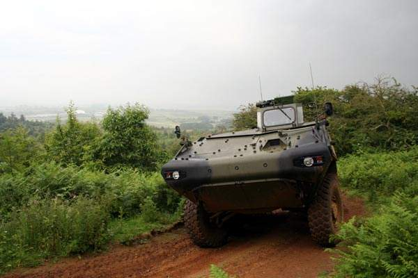 The Piranha Evolution took part in the FRES 'Trials of Truth' conducted in 2007 at the Armoured Trials and Development Unit, Bovington.