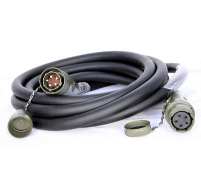 Robust electrical cabling used in the military sector