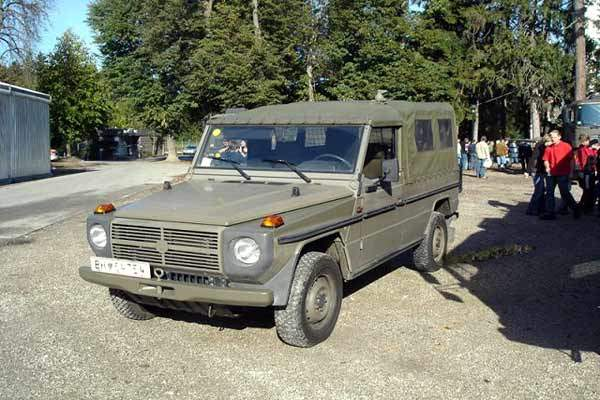 The Puch version of the G-Wagen used by the Austrian Army.