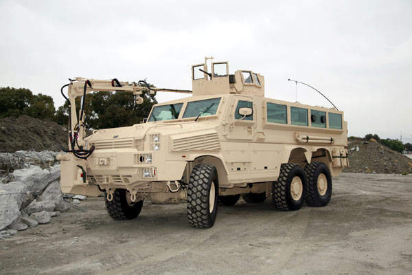 RG33 6×6 Mine-Resistant Ambush Vehicle MRAP