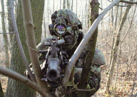 Soldier targeting using the FELIN system