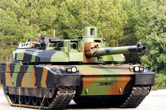 Leclerc main battle tank