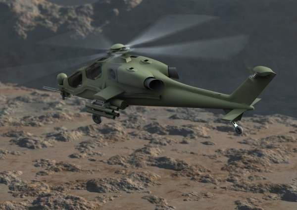 The T129 is powered by two LHTEC T800-4A turboshaft engines. Image courtesy of Agusta Westland.