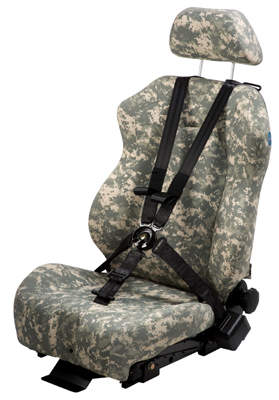 IED and road side bomb protected seat product