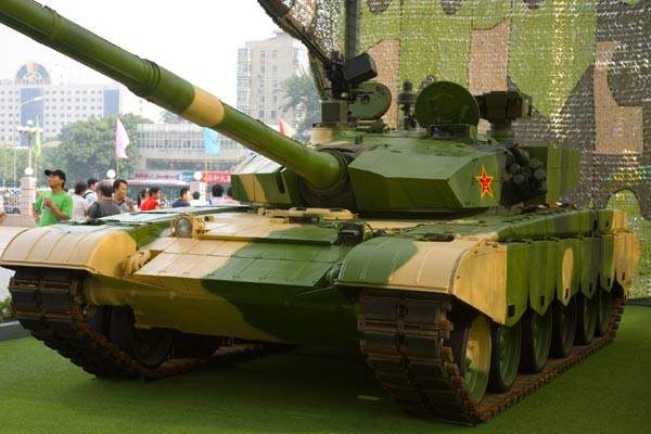 ZTZ99 was made to compete with western tanks, while its technology is used to improvise the more economical ZTZ 96.