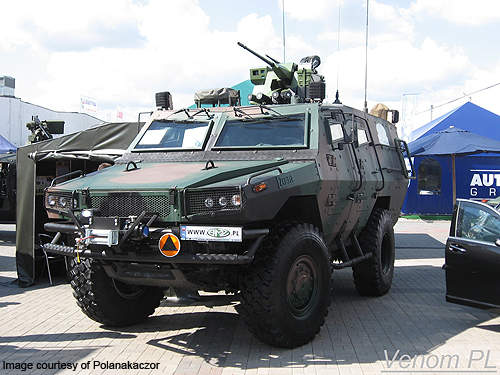 The first two Zubr P vehicles were delivered to the Polish Army in February 2011.