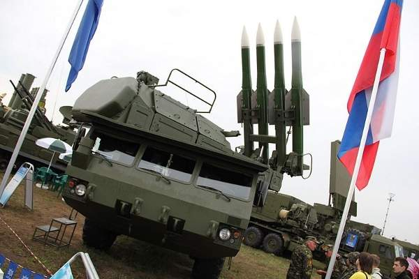 The Buk-M2E missile system is equipped with a 9S510E command post. Image courtesy of Александр Цимбалистов.
