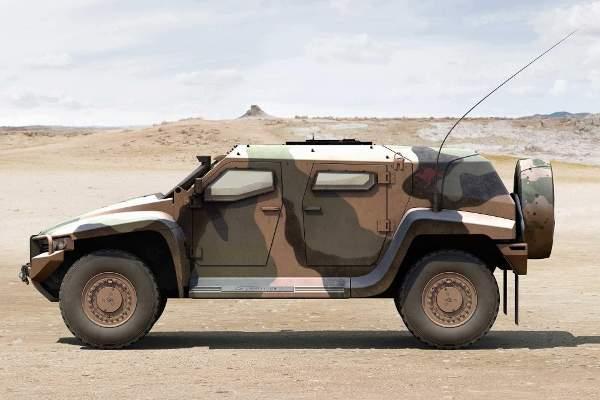 Superb Hawkei Light Protected Vehicle (LPV)