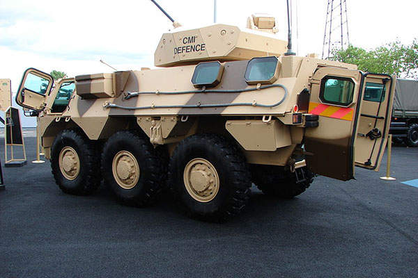 The VAB Mk3 armoured vehicle has a maximum road speed of 100km/h. Image courtesy of Copyleft.