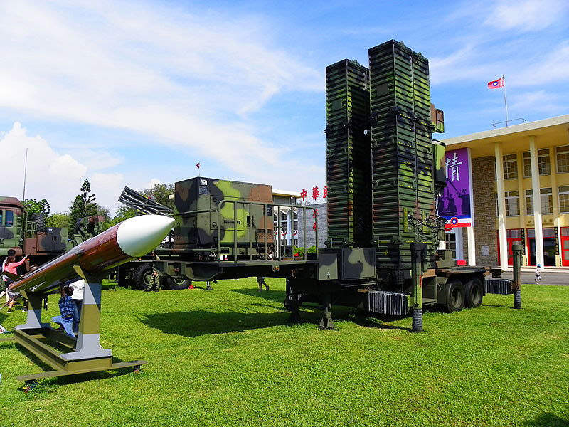 The TK III missile launcher has four containers. Image: courtesy of Hyun Fumio (Chinese: 玄史生).