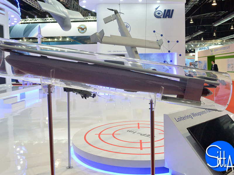 Green Dragon weapon is the new member of Israel Aerospace Industries' loitering munitions family. Image courtesy of Ministère de la Défense.