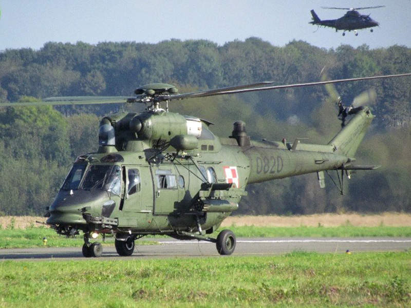 W-3PL Głuszec is powered by two PZL-10W turboshaft engines. Image courtesy of AgustaWestland.