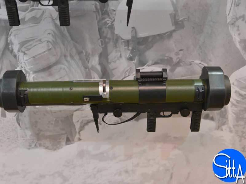 RGW 90 is shoulder-fired by a single operator. Image courtesy of Ministère de la Défense.