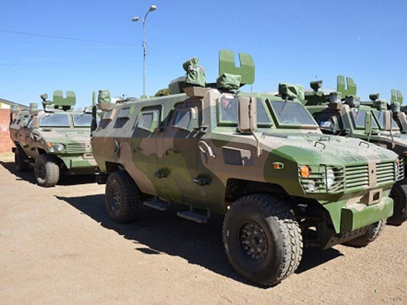 The Tiger armoured vehicle can travel at a maximum speed of 115km/h. Image courtesy of Ministry of Defence, Plurinational State of Bolivia.