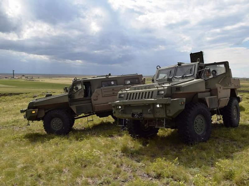 The Arlan wheeled vehicles can carry up to ten personnel. Image courtesy of JSC NC Kazakhstan Engineering.