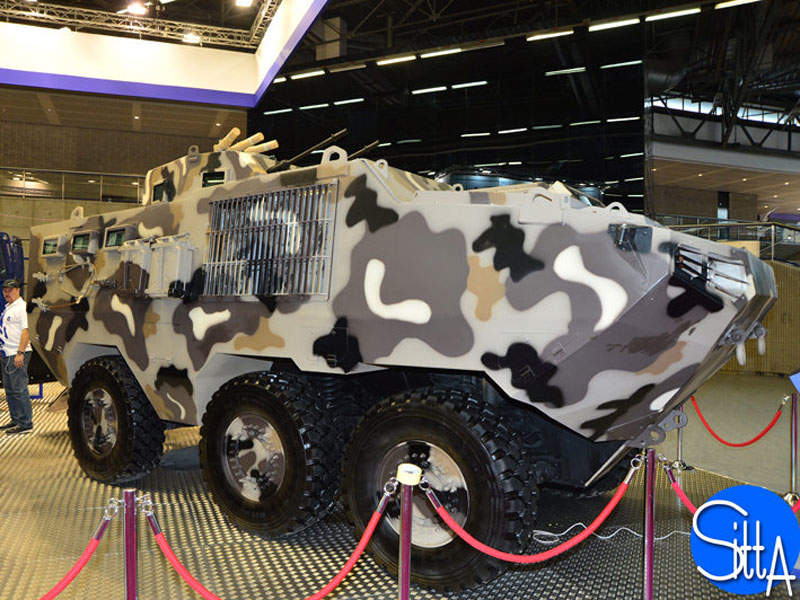 Alligator military vehicle is powered by a Cummins ISL 400 engine. Image courtesy of Ministère de la Défense.