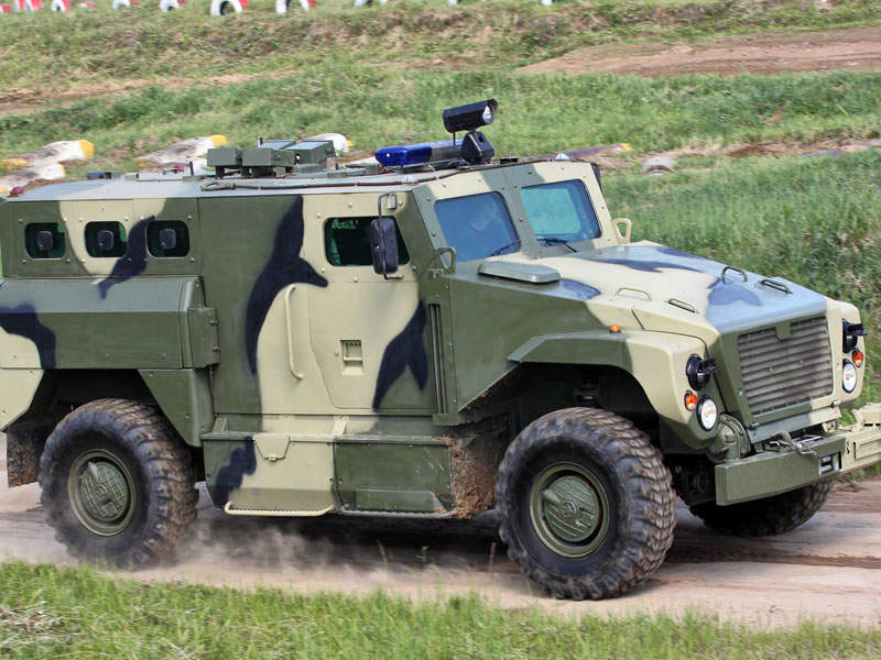 SPM-3 Medved 4x4 Armoured Vehicle - Army Technology