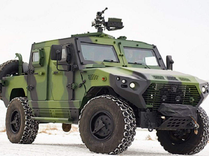 The AJBAN 440A tactical vehicle is designed and manufactured by NIMR Automotive. Image courtesy of VOP CZ, s.p.