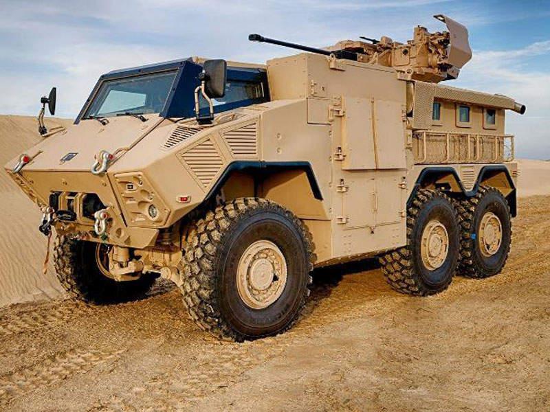 JAIS 6x6 fighting vehicle has a maximum speed of 105km/h. Image courtesy of NIMR Automotive LLC.