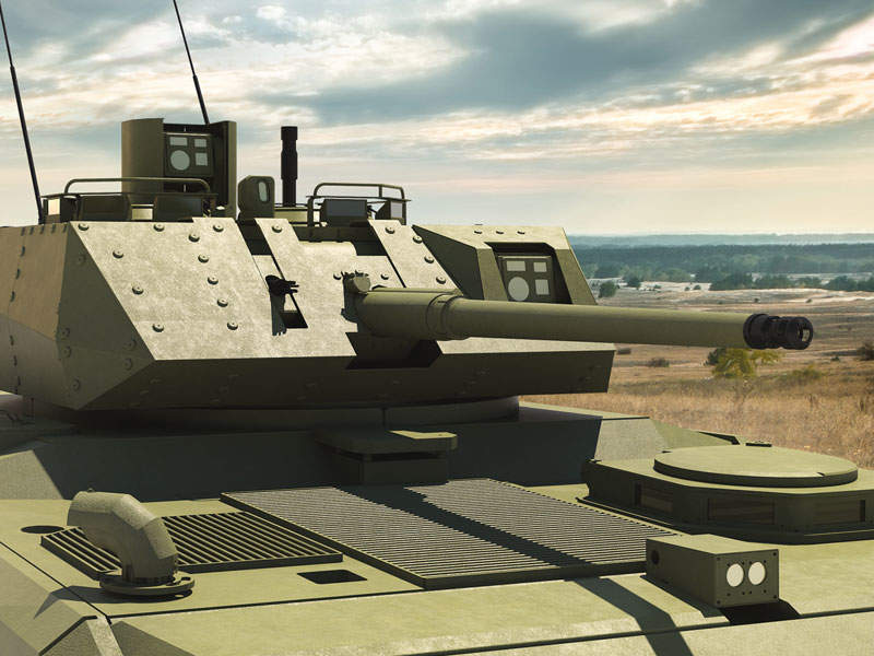 Kaplan-30 NGAFV is equipped with Teber-30 remote-controlled turret. Image courtesy of FNSS Savunma Sistemleri A.Ş.