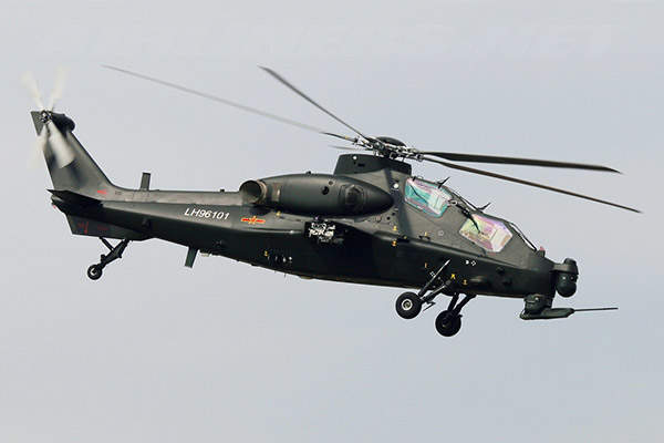 The Z-10 attack helicopter is powered by two P&WC PT6C-67C turboshaft engines. Image courtesy of 3GO*CHN-405/mjordan_6.