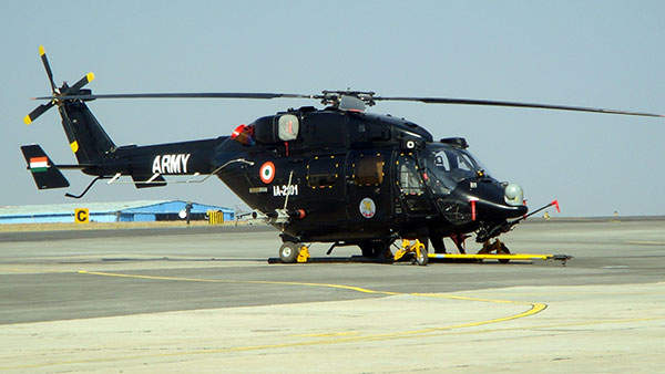 The first HAL Rudra helicopter was delivered to the Indian Army during the Aero India 2013 show. Image courtesy of Pritishp333.