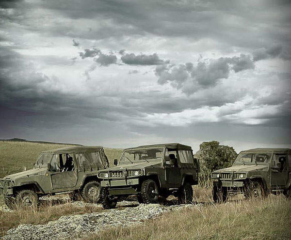 The Marruá military utility vehicle is available in five variants.