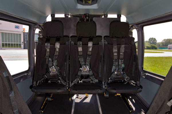 The H145M can accommodate nine to ten troops. Image courtesy of ECD / Charles ABARR.