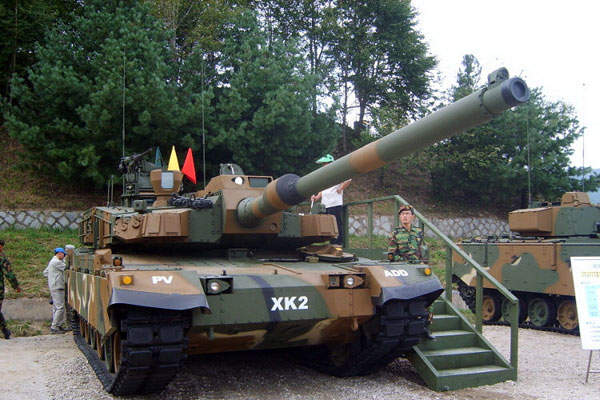 The K2 MBT can attain a maximum road speed of 70km/h on road. Image courtesy of Defense Citizen Network.