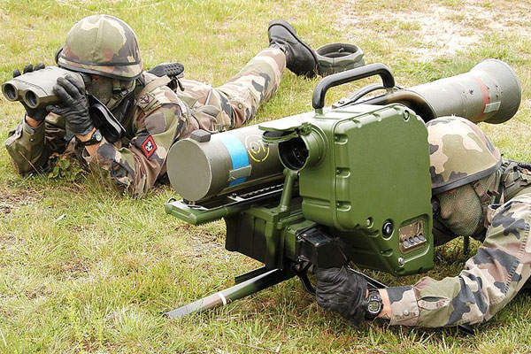 The MILAN ER anti-tank missile is fired by MILAN ADT (advanced technology) firing post. Image courtesy of Comm2007.