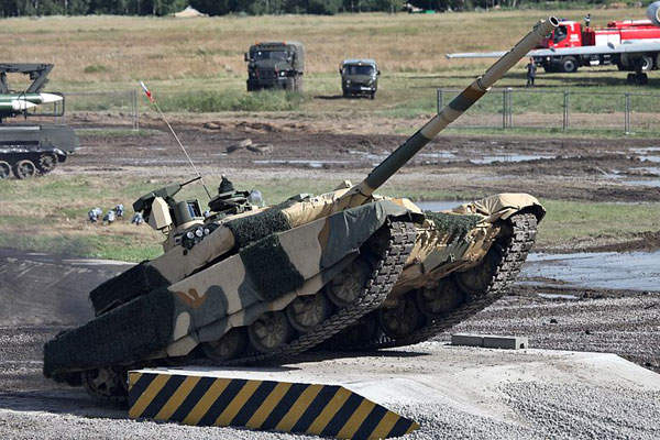 T-90MS is a modernised version of the T-90 main battle tank. Image courtesy of Vitaly V. Kuzmin.
