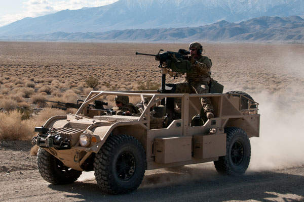 The Flyer ALSV has a cruising range of 725km. Image courtesy of General Dynamics Ordnance and Tactical Systems.
