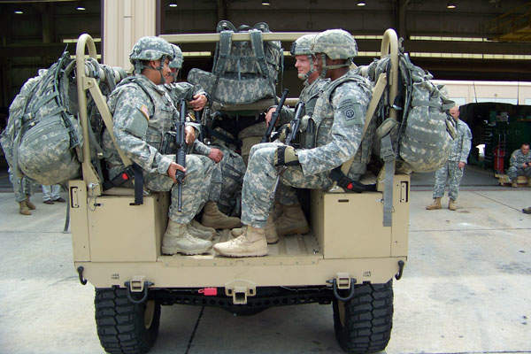 DAGOR can carry a payload of up to 1,474kg. Image courtesy of Polaris Industries, Inc.