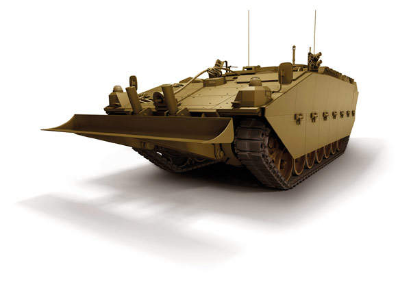 Recovery variant of the Scout SV. Image courtesy of General Dynamics UK.