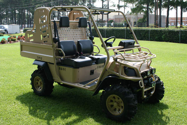 The Baserunner vehicle can carry a maximum load of 800lb.
