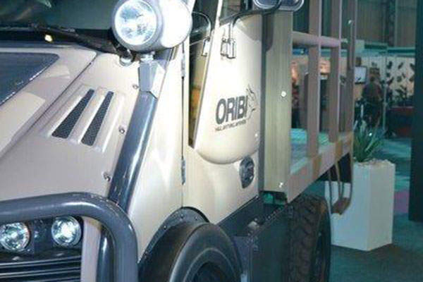 The Oribi MUT has a payload capacity of 3,300kg. Image: courtesy of NGAGE.